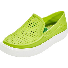 Crocs CitiLane Roka Pantoffels Kinderen, groen